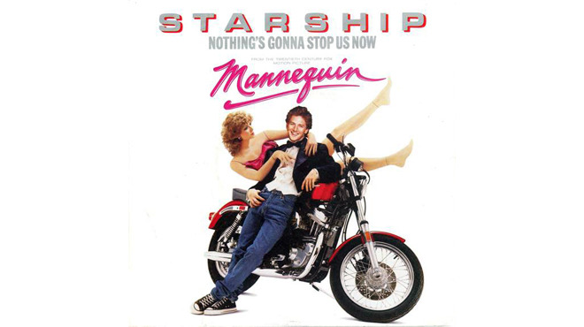 """Nothing's Gonna Stop Us Now"" by Starship (Mannequin, 1987)"