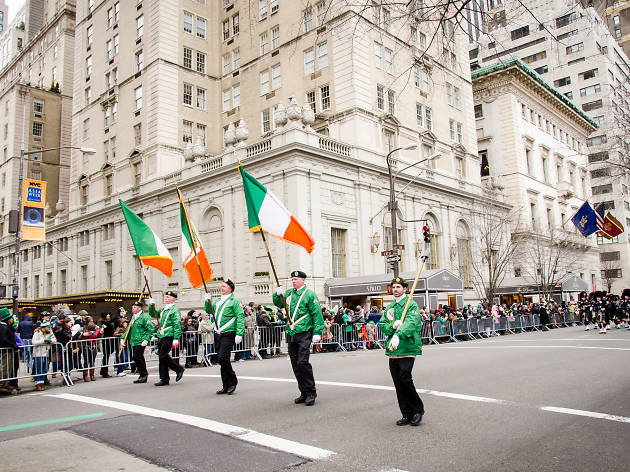 St Patricks Day Parade New York 2019 Guide to the St. Patrick's Day Parade NYC with A Route Map