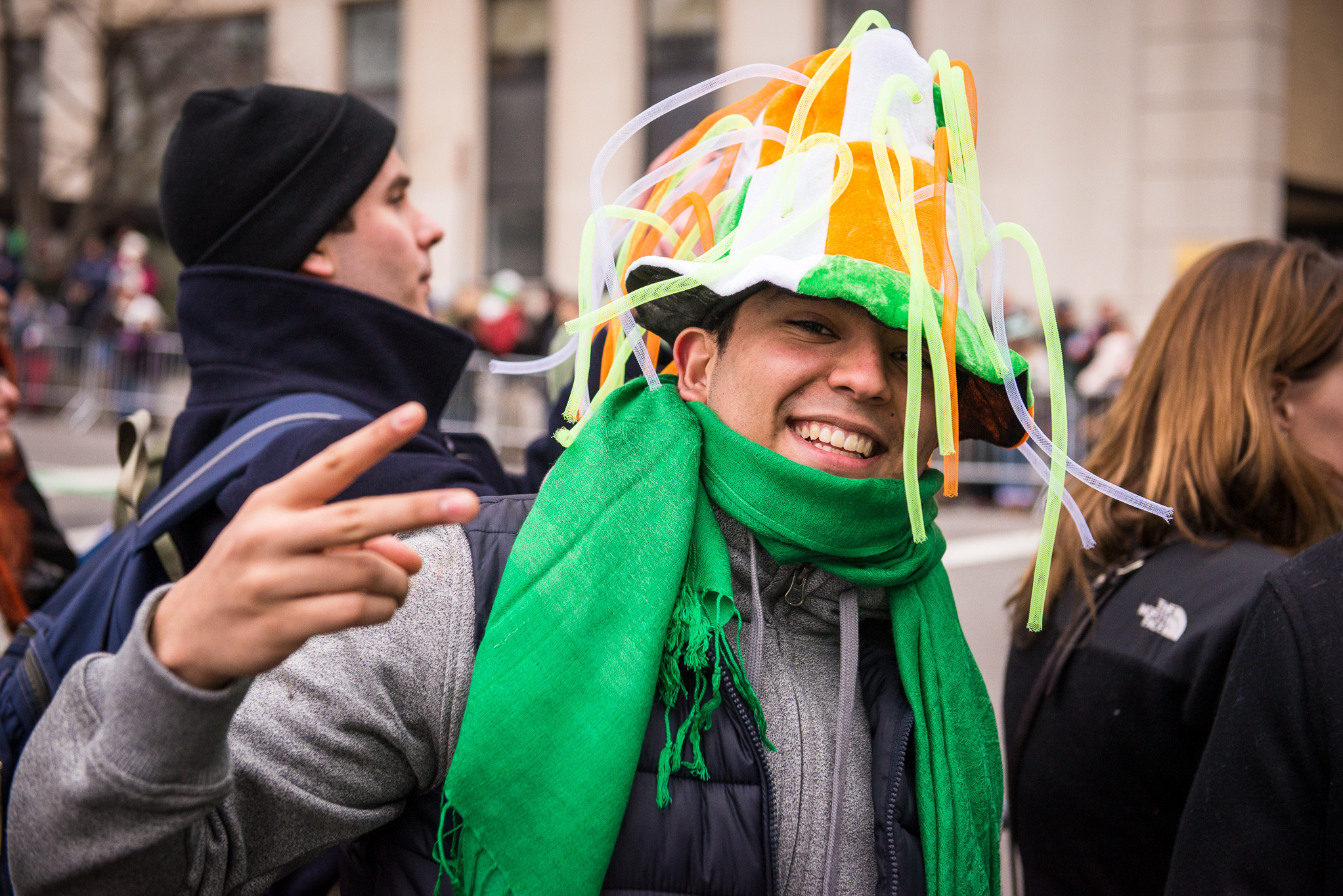 It's only noon and New Yorkers are going crazy for St. Patrick's Day