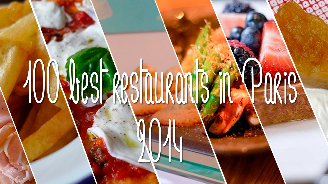 Paris's 100 best restaurants