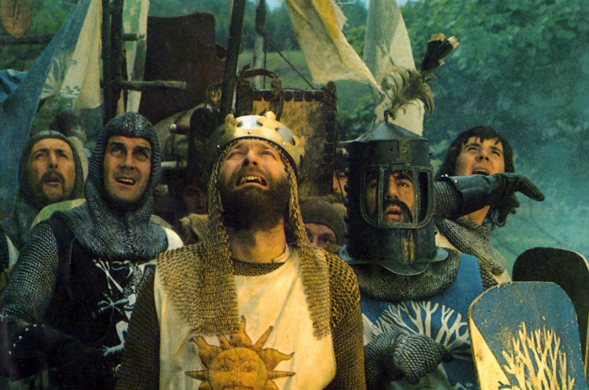 Funny films: Monty Python and the Holy Grail