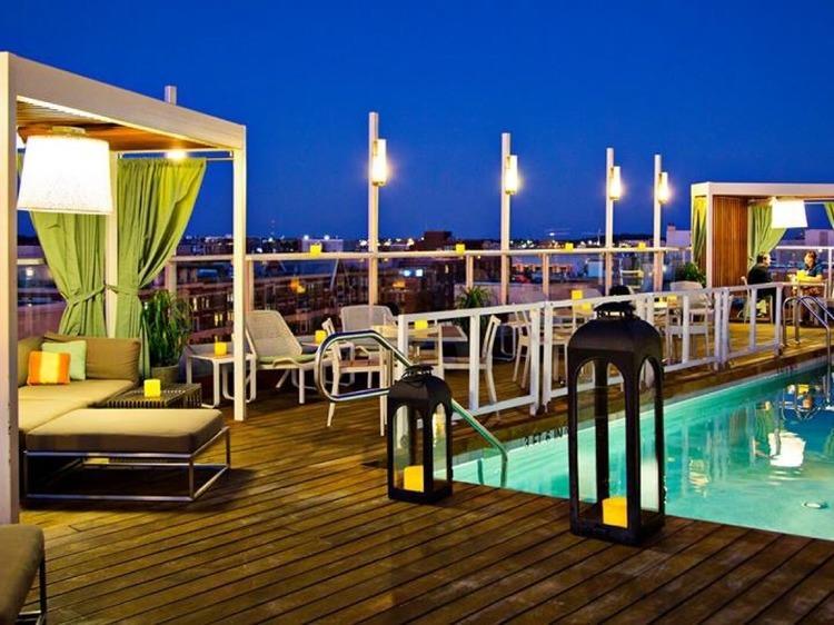 Donovan House Rooftop Pool Bar