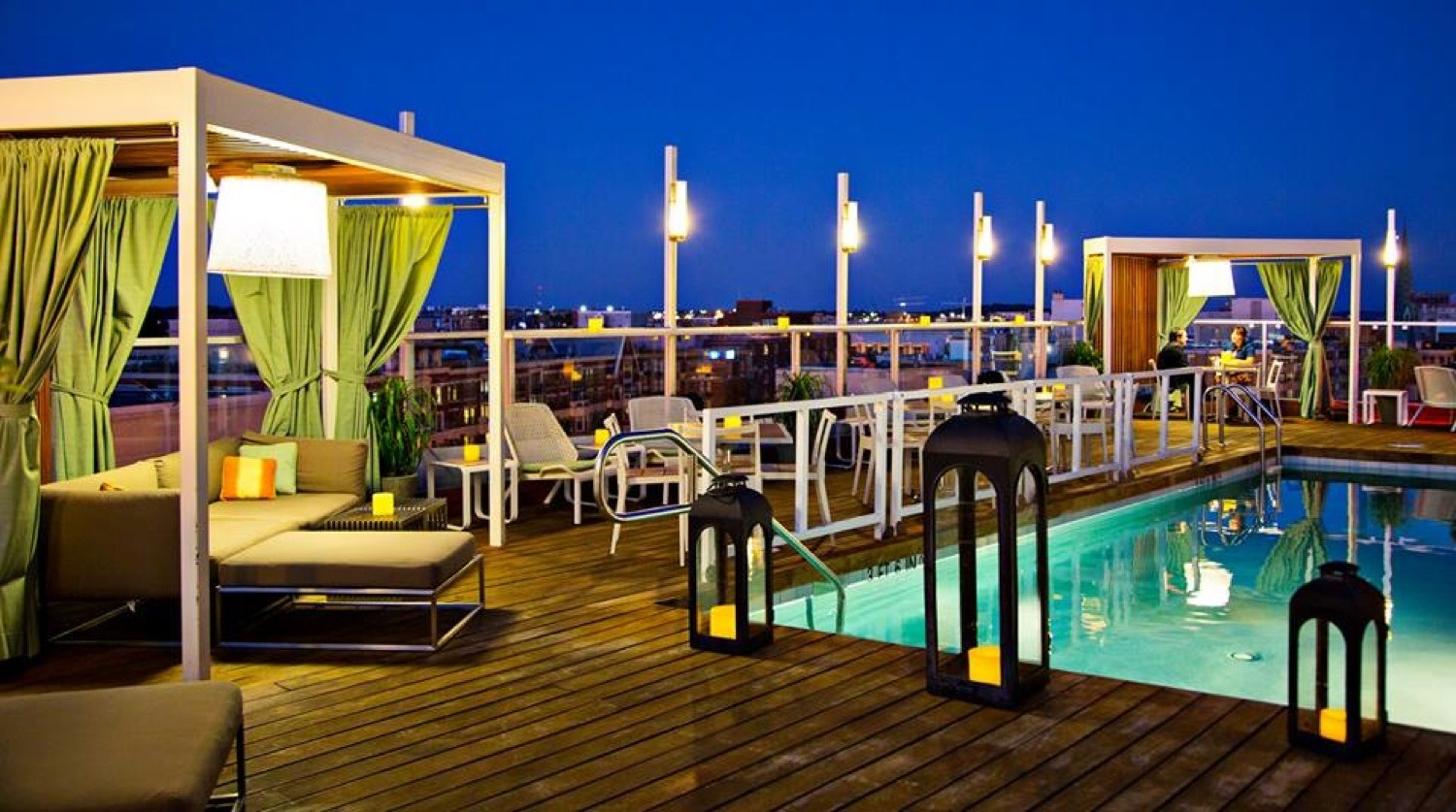 Donovan House Rooftop Pool Bar