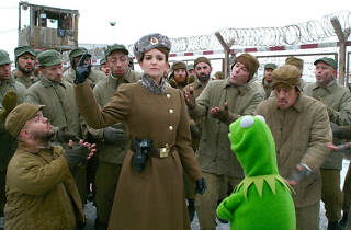 Tina Fey in Muppets Most Wanted