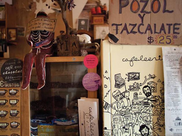 Cafeleería (Foto: Alejandra Carbajal)