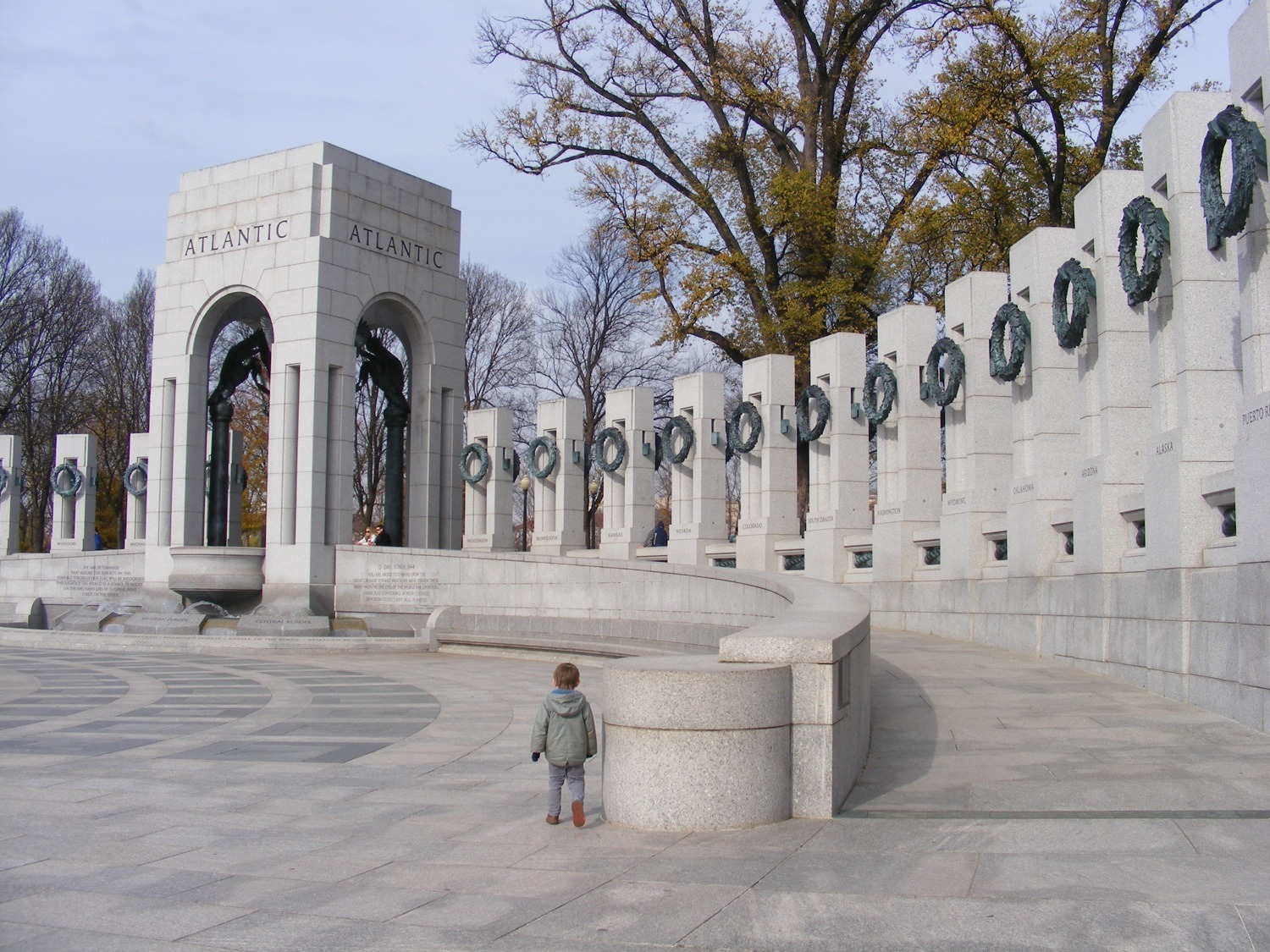 National World War II Memorial, Washington, DC, Musuems and Monuments