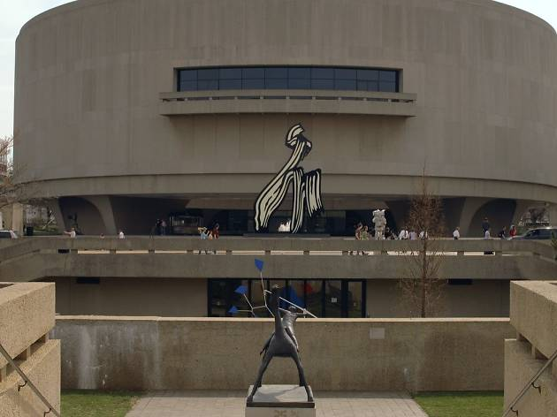 Make your wish come true with the help of Yoko Ono at the Hirshhorn Museum & Sculpture Garden