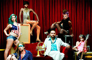 Chorus Festival : Bachar Mar-Khalife + Ibrahim Maalouf + Magic Malik + FFF + Ibibio Sound Machine + High Tone