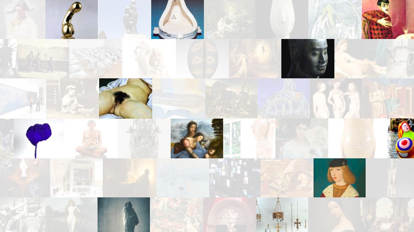50 oeuvres d'art incontournables à Paris