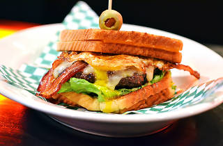 Jake Melnick's March Madness Burger