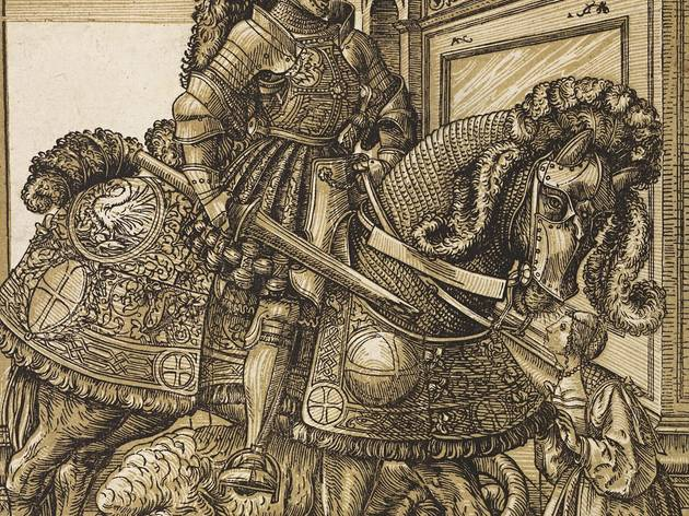 Hans Burgkmair the Elder  ('St George and the Dragon', c1508-10)