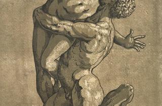 Andrea Andreani ('Rape of a Sabine Woman', 1584 )