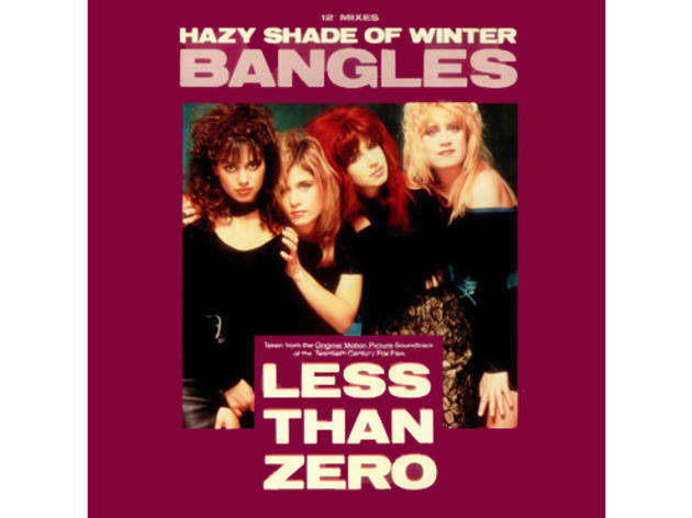 """Hazy Shade of Winter"" by the Bangles (Less than Zero, 1987)"