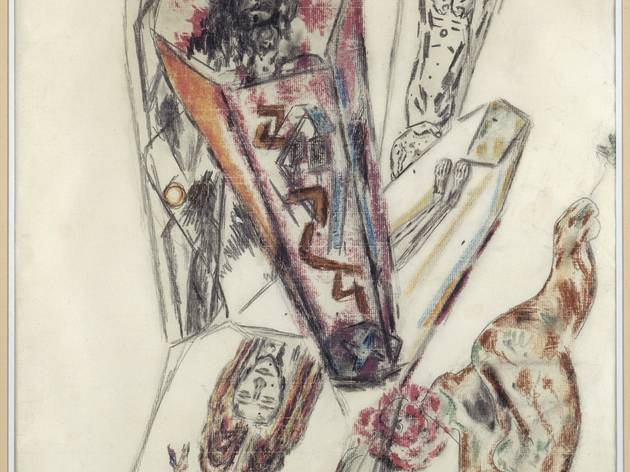 (Antonin Artaud, 'Le théâtre de la cruauté', vers mars 1946 / © Centre Pompidou, MNAM-CCI, Dist. RMN-Grand Palais / Jacques Faujour / © ADAGP, Paris 2014 )