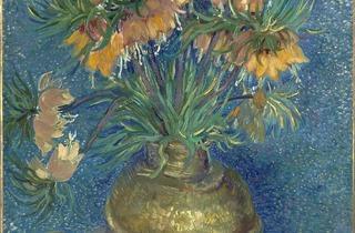 (Vincent Van Gogh, 'Fritillaires couronne impériale dans un vase de cuivre', Paris, vers avril-mai 1887 / © Musée d'Orsay, dist. RMN-Grand Palais / Patrice Schmidt )