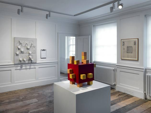Stephen Willats (Exhibition view of 'Control. Work 1962–69' at Raven Row)