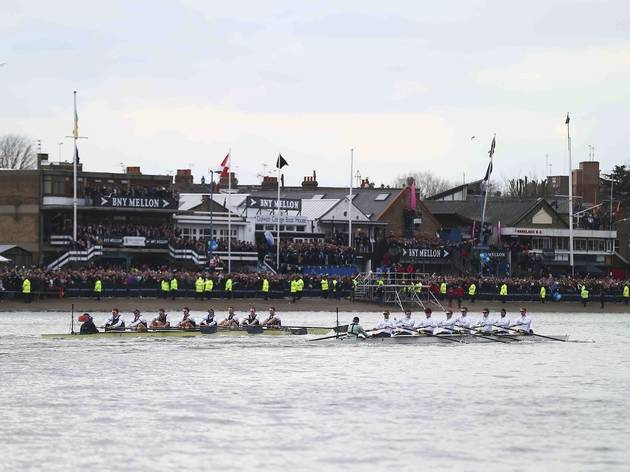 (The Oxford and Cambridge University Boat Race 2013 © Clive Rose)