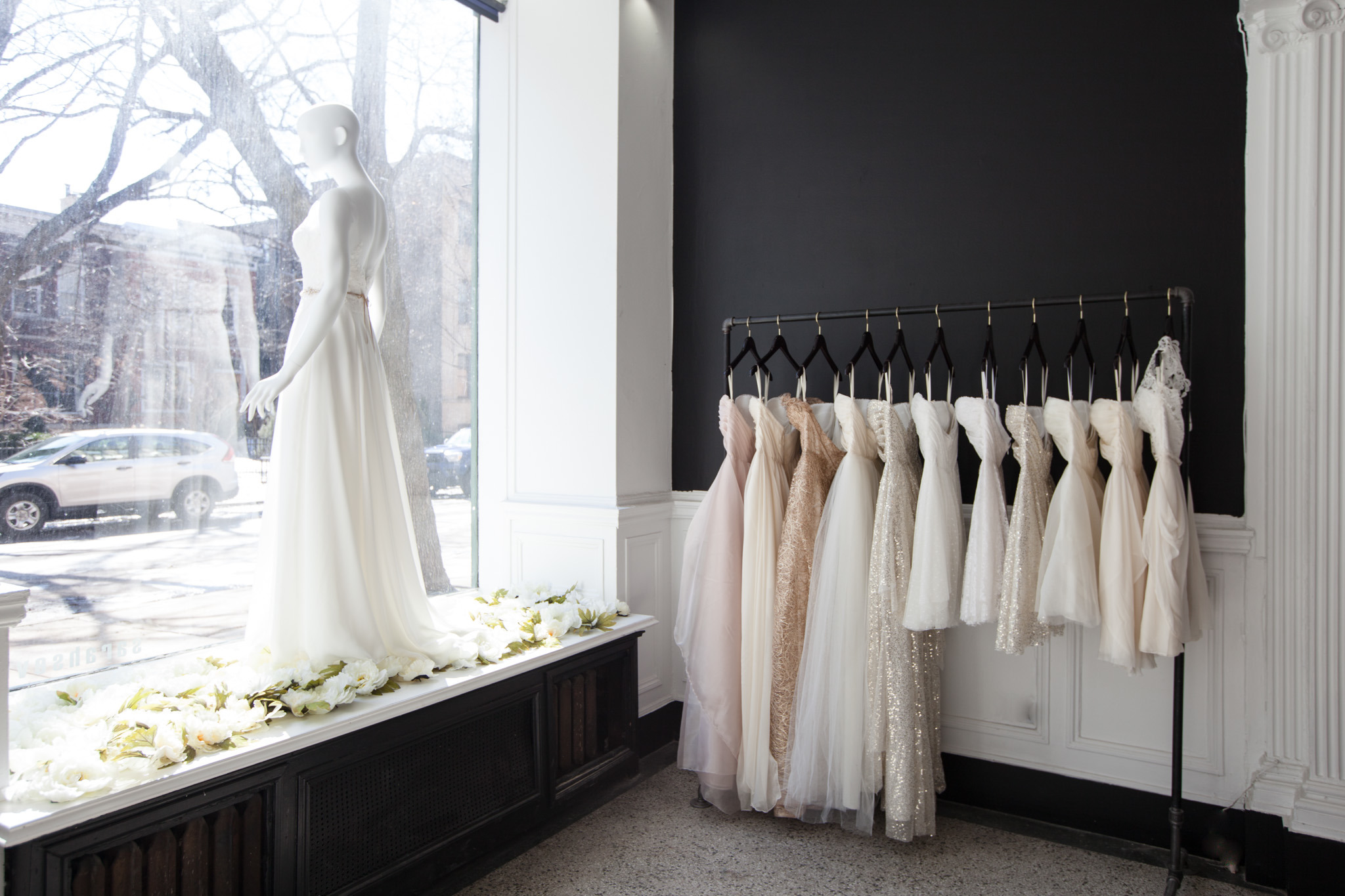The best bridal shops in chicago for the perfect wedding dress sarah seven bridal salon ombrellifo Image collections