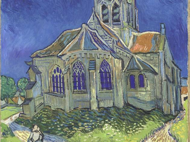 (Vincent Van Gogh, 'L'Église d'Auvers-sur-Oise, vue du chevet', juin 1890 / © Musée d'Orsay, dist. RMN-Grand Palais / Patrice Schmidt )