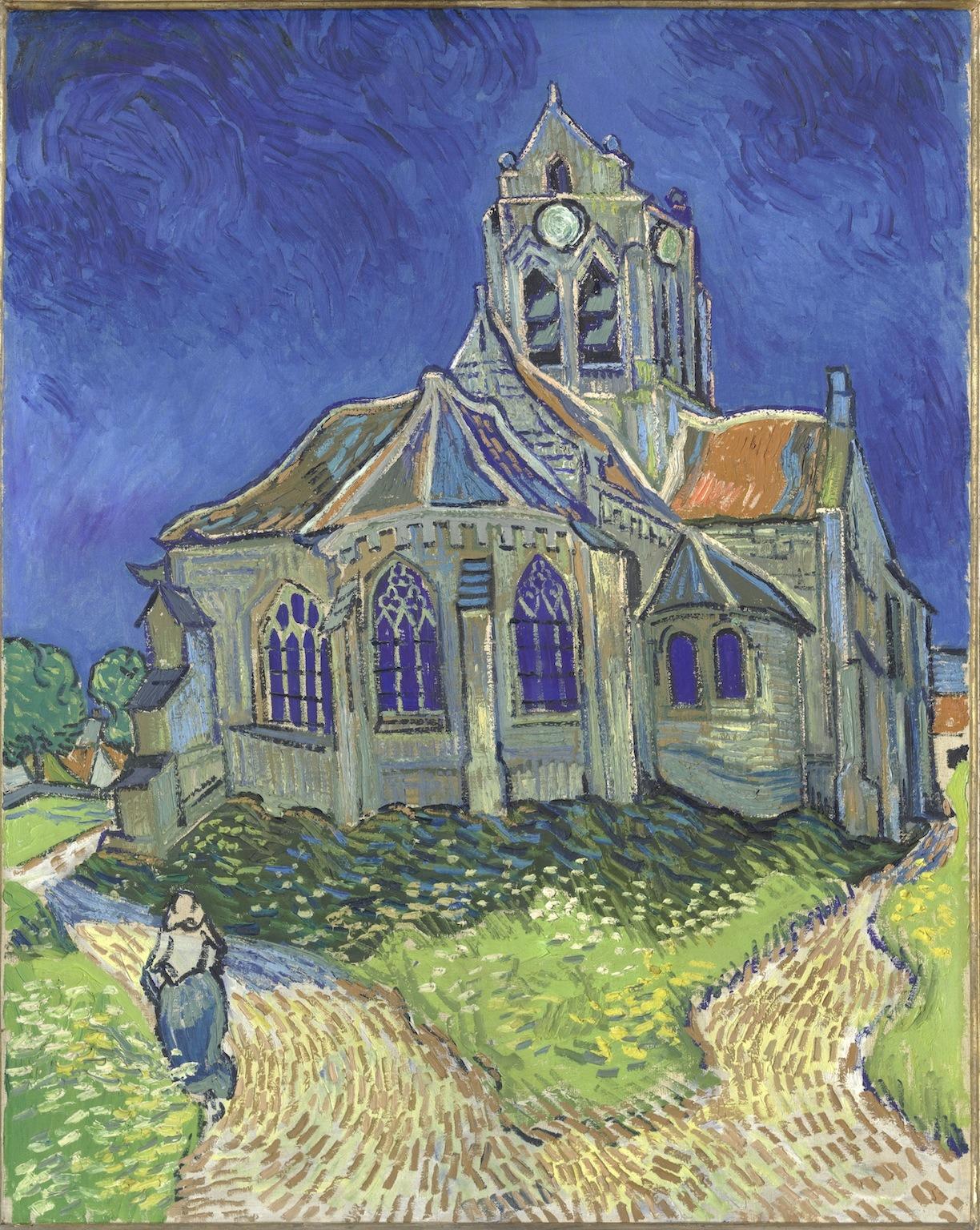 Musée d'Orsay • L'Eglise d'Auvers-sur-Oise
