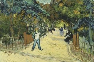 (Vincent van Gogh, 'Route de campagne en Provence de nuit', Saint-Rémy-de-Provence, mai 1890 / © Kröller-Müller Museum)