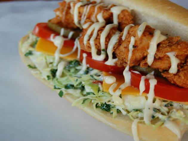 $1 Fried Chicken Sandwiches