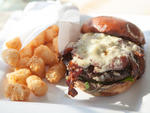 Amish B & B burger at Fritz.