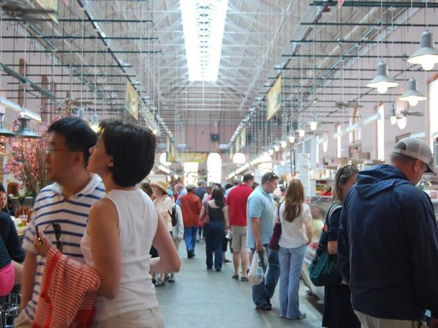 Spend an evening on Barracks Row in Eastern Market