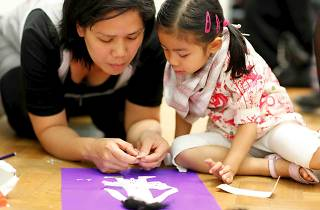 Family Art Workshops: In the Picture!