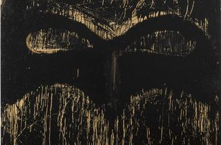 Joyce Pensato ('Golden Batman', 2014)