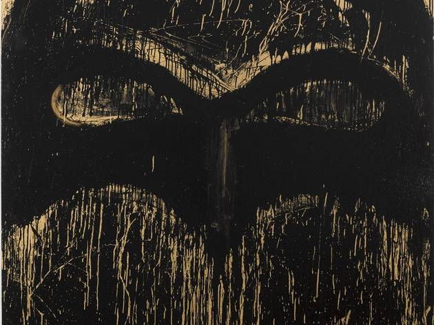 Joyce Pensato ('Golden Batman', 2014)