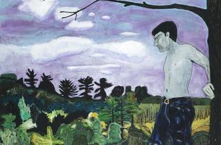 Peter Doig ('At the Edge of Town', 1986-1988)