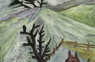 Peter Doig ('Barn Horse', 1986)