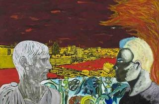 Peter Doig ('Contemplating Culture', 1985)