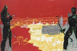 Peter Doig ('Red Sienna', 1985)