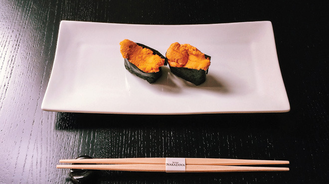 Uni at Sushi Nakazawa