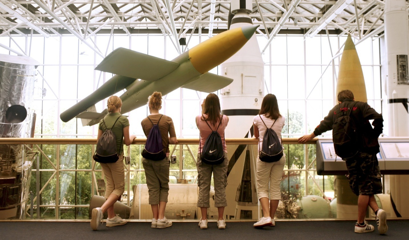 Take flight at the National Air & Space Museum