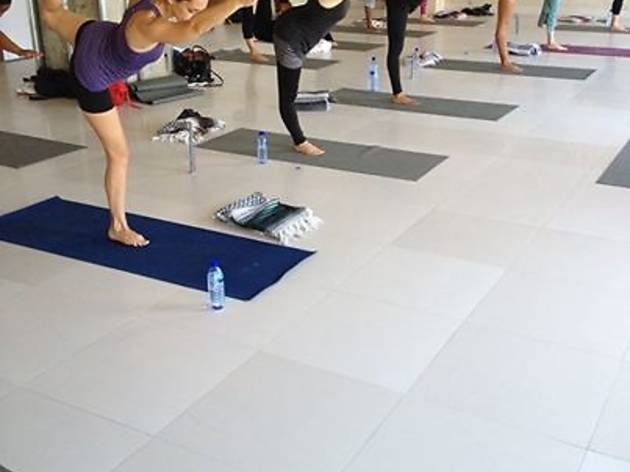 Yoga classes at Movenpick
