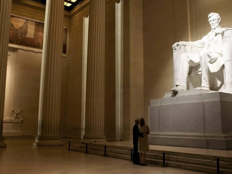 Lincoln Memorial in Washington, D.C.