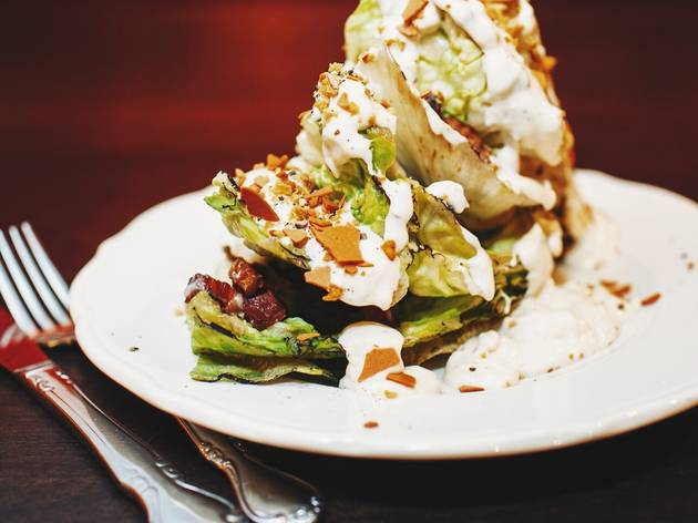 Wedge Salad at M. Wells Steakhouse