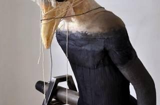 (Narmine Sadeg, 'Homme-Oiseau', 2014 / Techniques mixtes / Collection de l'artiste/ © Narmine Sadeg)
