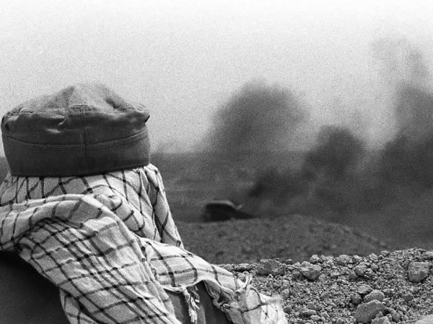 (Bahman Jalali, photos de guerre, Iran 1980-1988 / Epreuve gélatino-argentique / Collection particulière)
