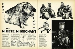 (Ardeshir Mohassess, 'Jeune Afrique' Numéro 626, 1973 / Collection Groupe Jeune Afrique)
