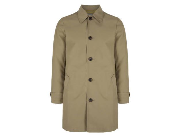 Gap bonded mac trench coat, $108, at Gap, locations throughout the city; visit gap.com