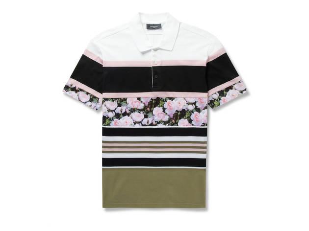 Givenchy polo shirt, $485, at mrporter.com