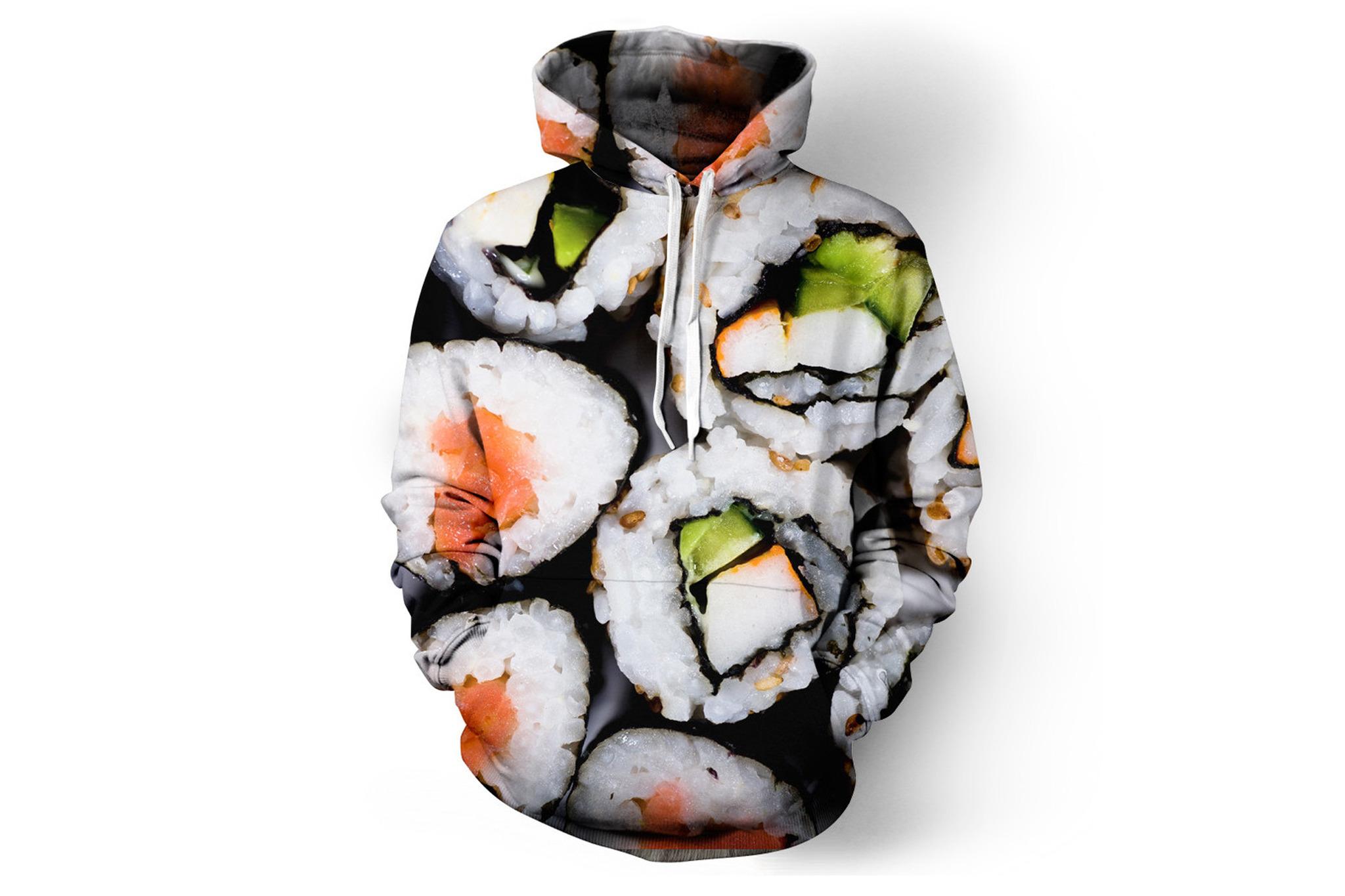 Beloved Sushi hoodie, $68, at belovedshirts.com