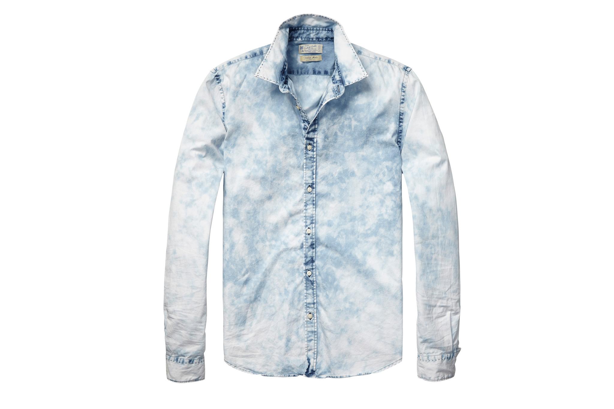 Scotch & Soda relaxed-fit denim shirt, $115, at scotch-soda.com