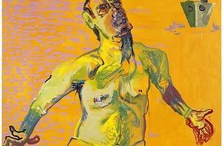 """Martin Kippenberger, """"The Raft of the Medusa"""""""