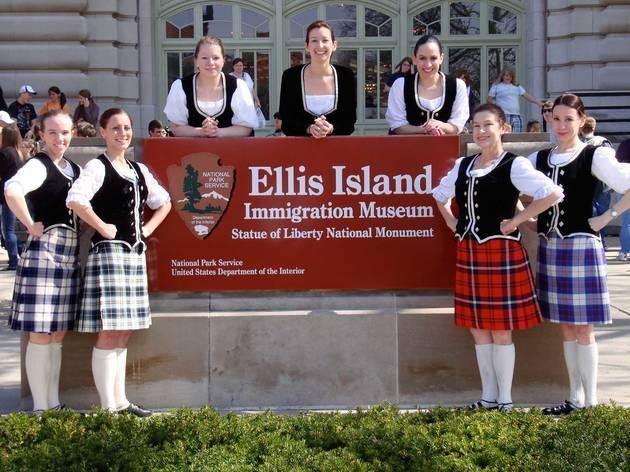 Tartan Day on Ellis Island