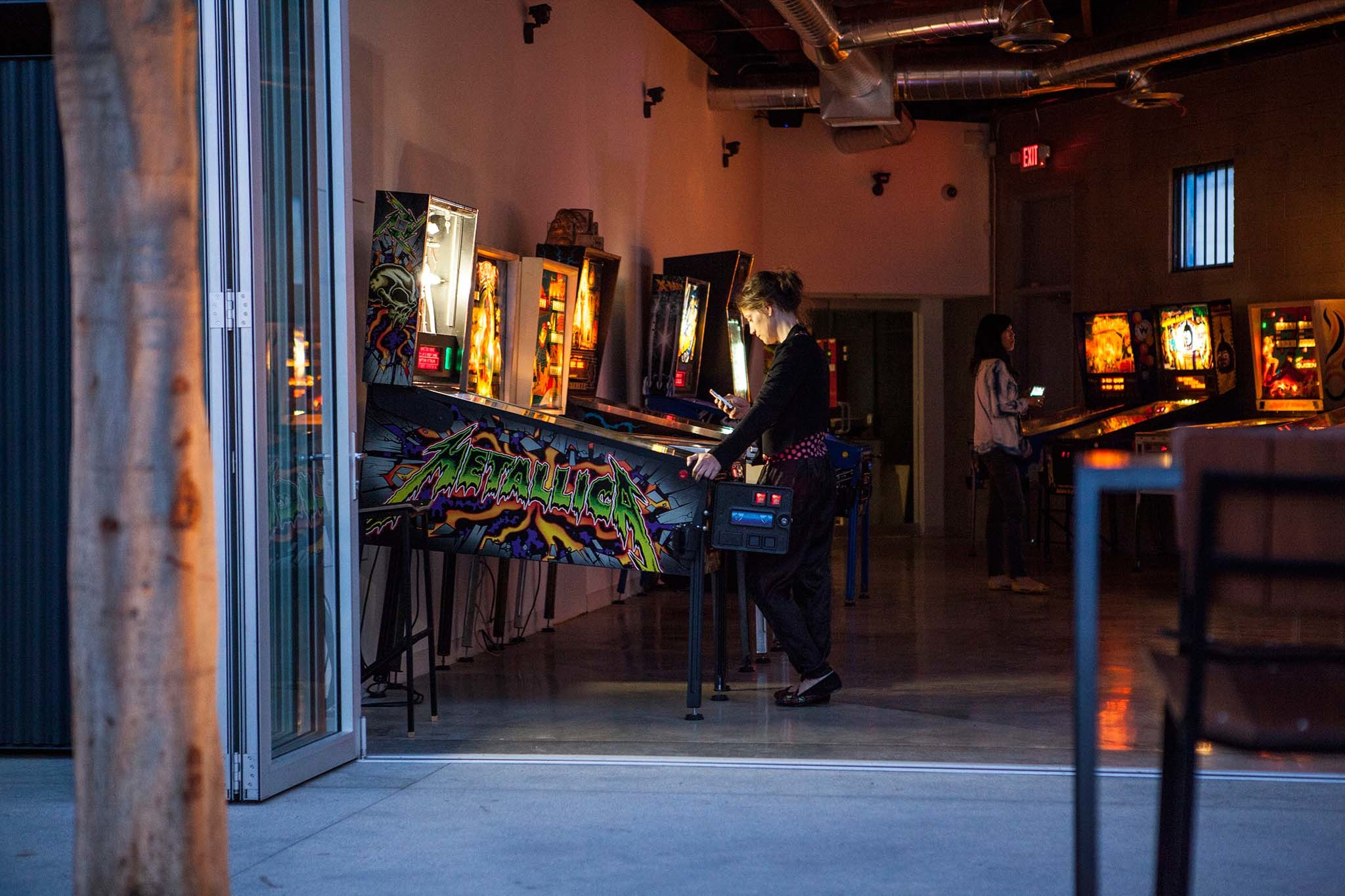 Have some fun at an arcade bar